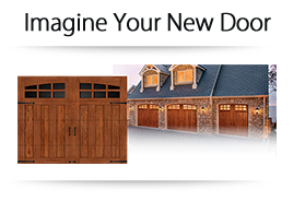 Use our Visualizer tool to build your new garage door.