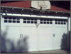 Coachman garage door