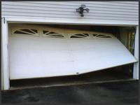 Lizzie's will repair all of your garage door needs.