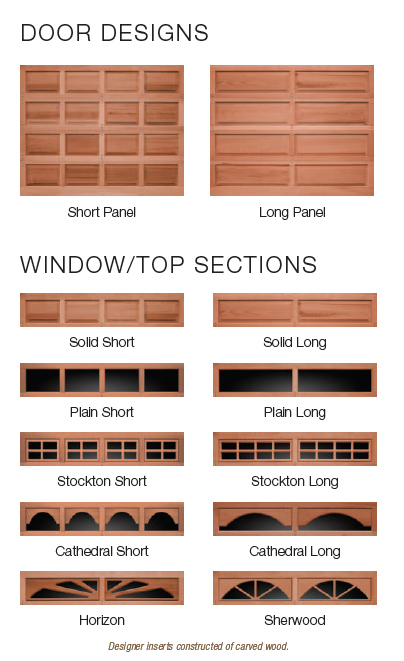 Classic Wood Raised Panel Door Options