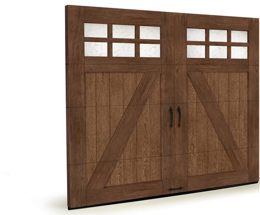 Faux Wood Carriage House Garage Doors Lizzie 39 S Garage
