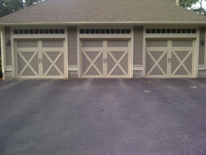 Lizzie's garage door installation