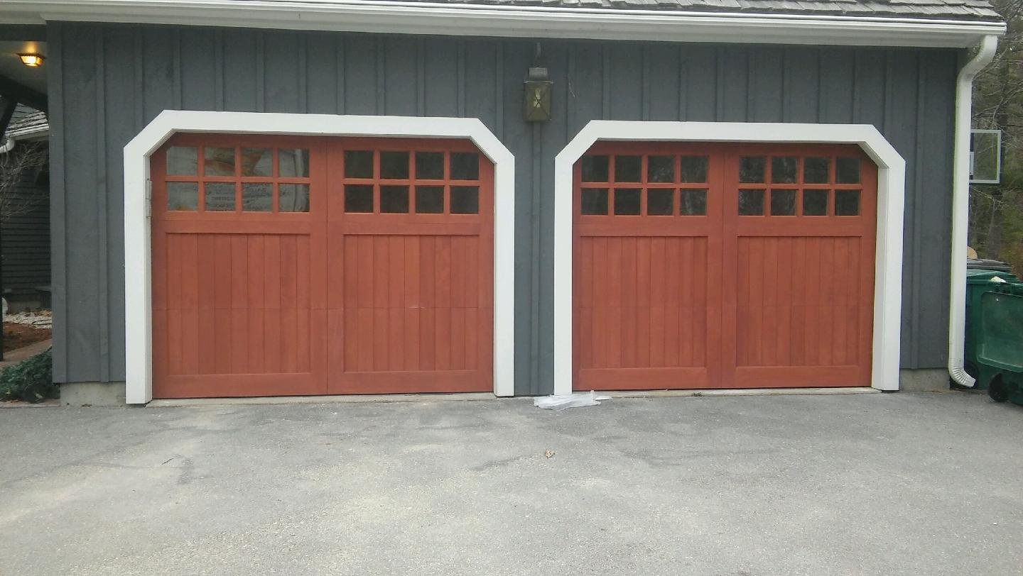 Beautiful Carriage Style Garage Doors