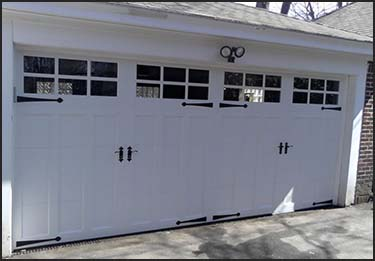 residential door installation by Lizzie's Garage Doors