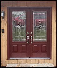 Clopay entry doors by Lizzie's Garage Doors