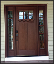 Craftsman Clopay entry door