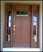 Clopay entry door by Lizzie's Garage Doors